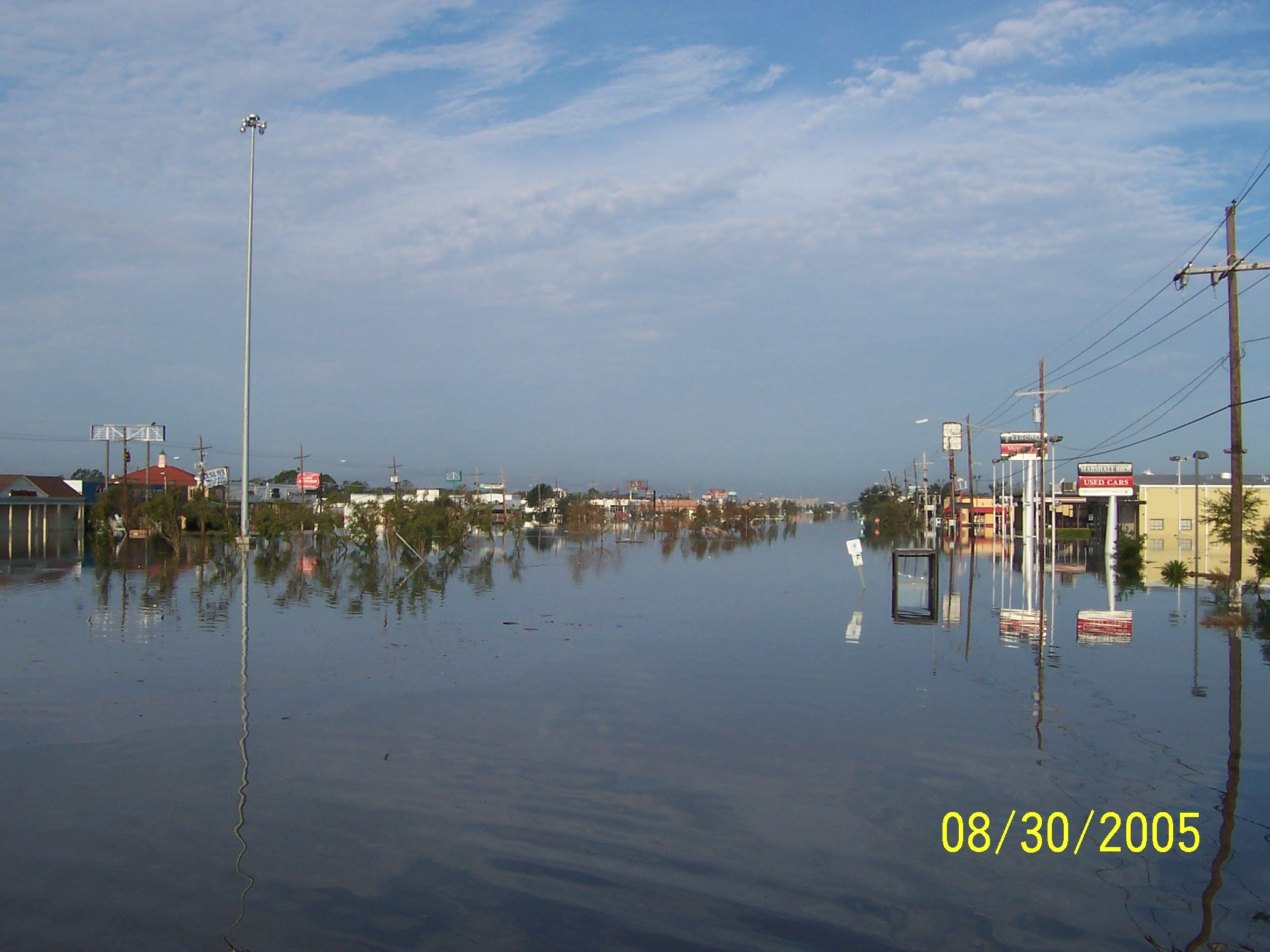 After Katrina Which I Was There And Went Through Metairie New Orleans Louisiana Hurricane Katrina