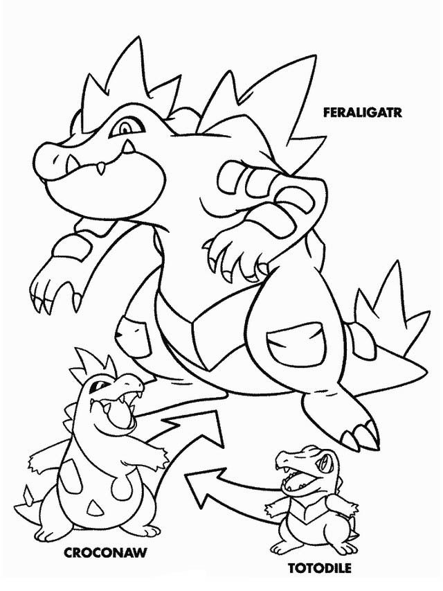 Pokemon Coloring Pages 19 | Pokémon | Pinterest | Dibujos para ...