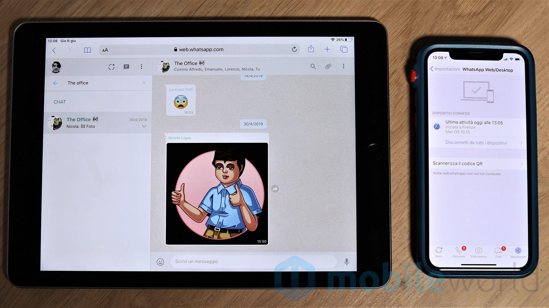 WhatsApp Web su iPad? Sì, con iPadOS! (con immagini) Ipad