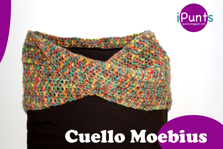 Tutorial Cuello Moebius crochet paso a paso | bufandas | Pinterest ...