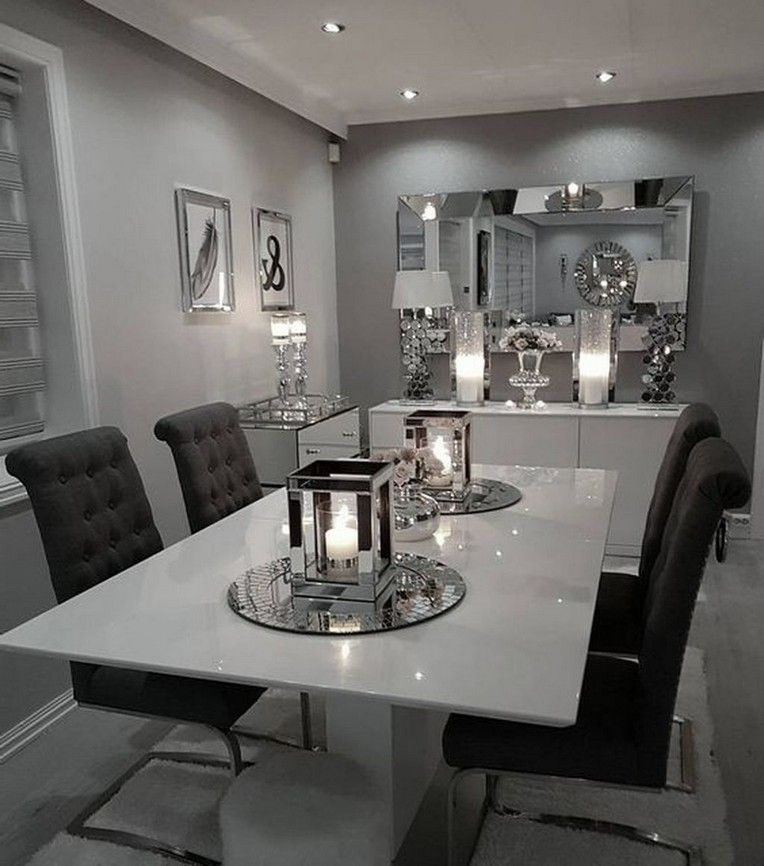 40+ Classy Luxury Dining Room Design Ideas