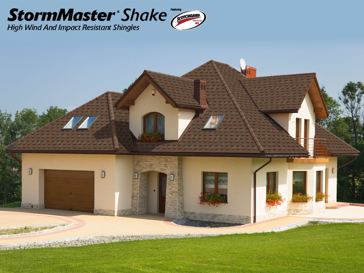 Best Stormmaster Shake Atlas Roofing Shingles In Heather Blend 400 x 300