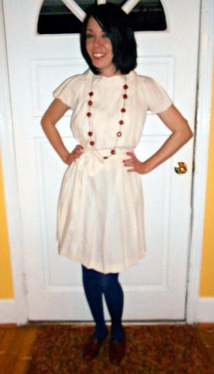 pleated skirt to pleated dress