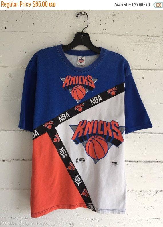 New York Knicks 90s Basketball Ny Knicks T Shirt Jumper Large New York Knicks Ny Knicks T Shirt