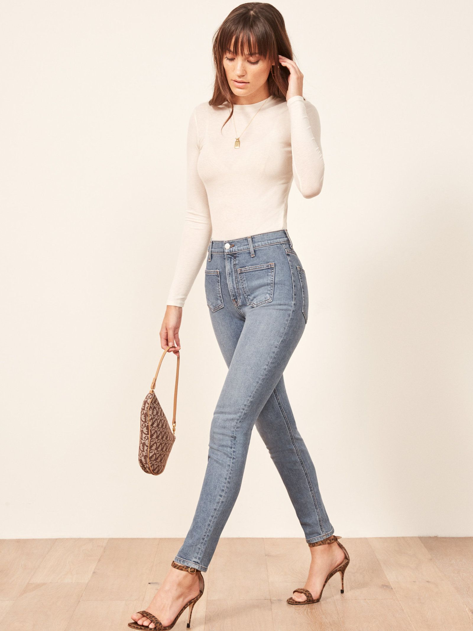 918820937f2ec4 The High & Skinny Jean W/ Patch Pockets | Ref Jeans in 2019 | Jeans ...