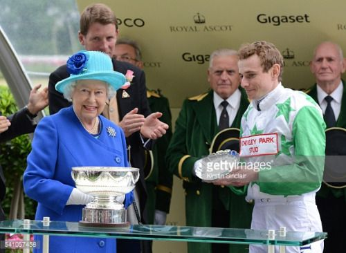 ASCOT, ENGLAND - JUNE 18: Ryan Moore receives the Royal Ascot... #isleofwhithorn: ASCOT, ENGLAND - JUNE 18: Ryan Moore… #isleofwhithorn