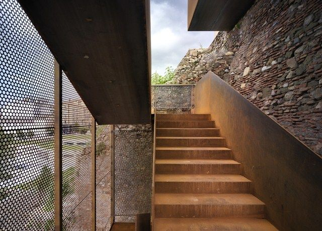 Stairs Treppen corten steel stairs treppen stairs escaleras repinned by smg