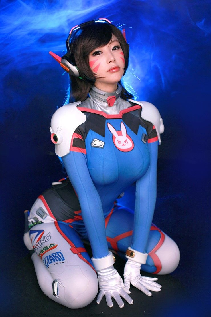 D va overwatch cosplay
