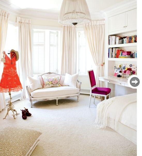 Feminine Bedroom, Home Decor