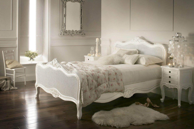 Vintage White Bedroom 66 Photo On interior security