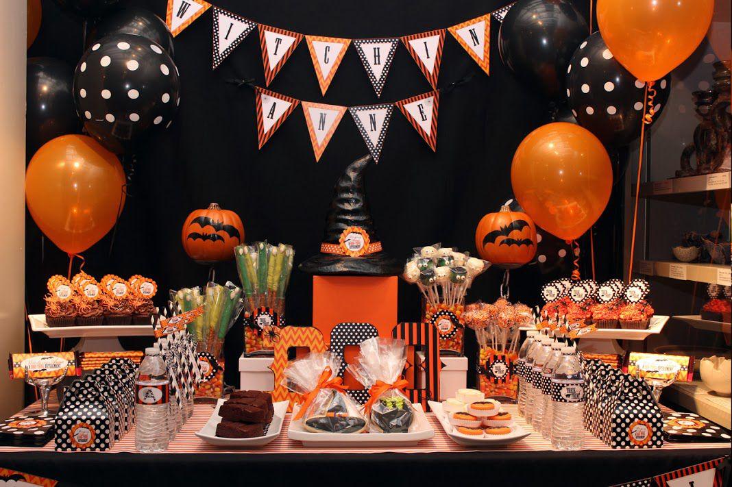 Decoraci n de halloween para peque as brujas fiestas de - Decoracion para halloween ...