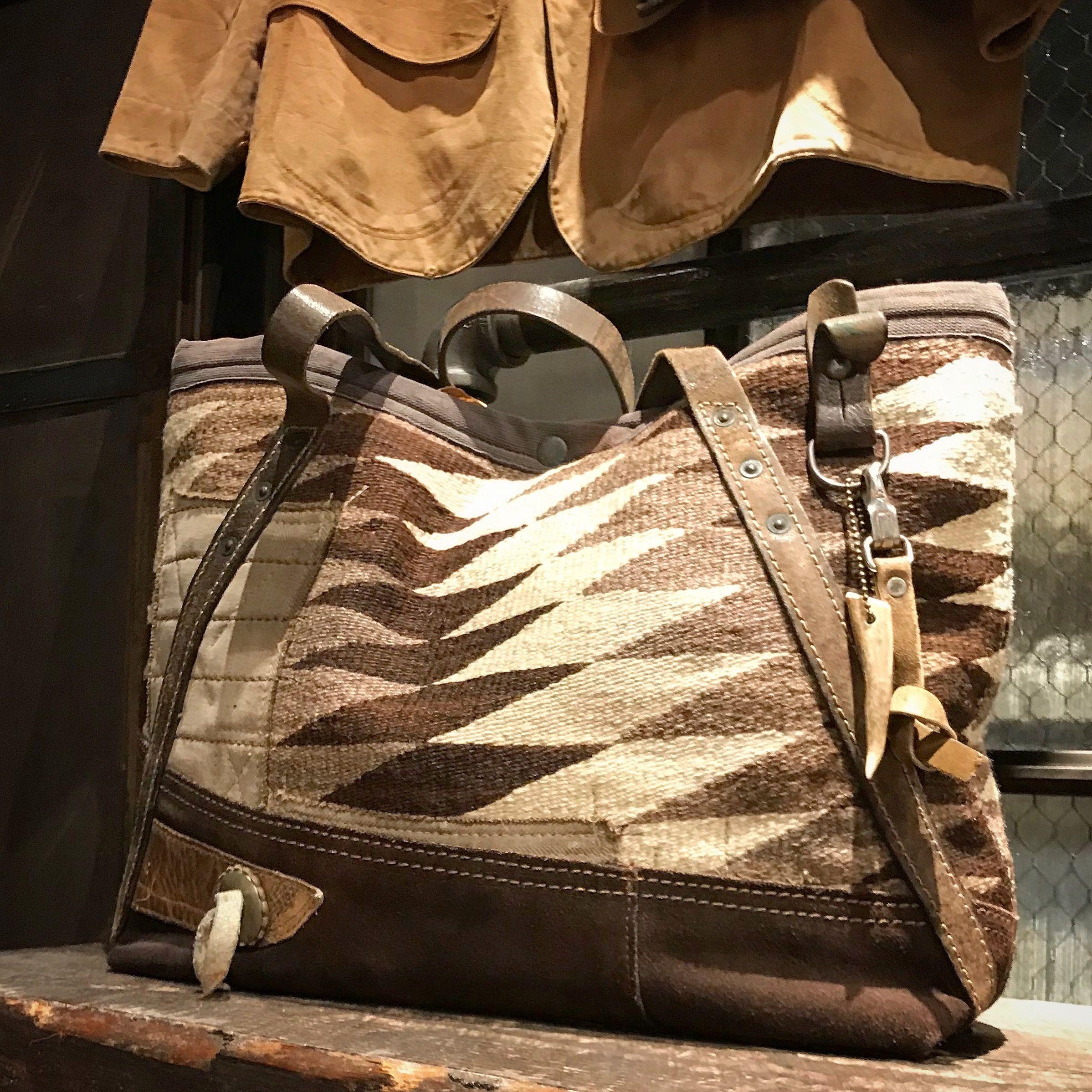 J. Augur Design Navajo bag at the Ralph Lauren RRL store Soho 504f039d1eb0b