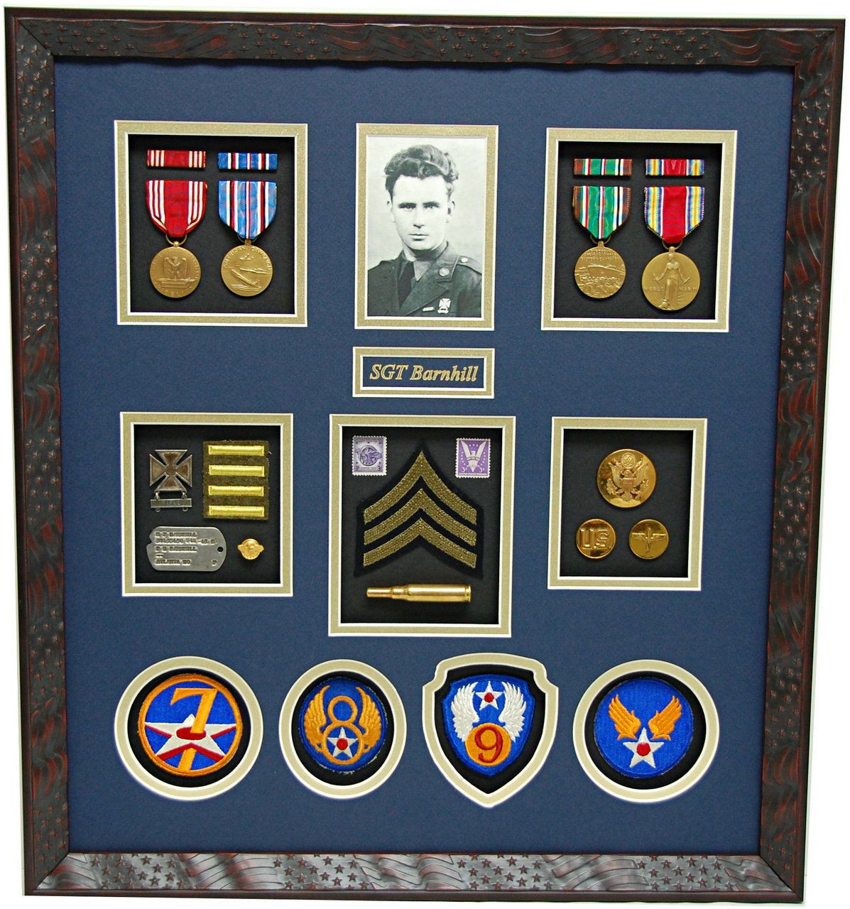 Pin on Army Military Shadow Box Displays