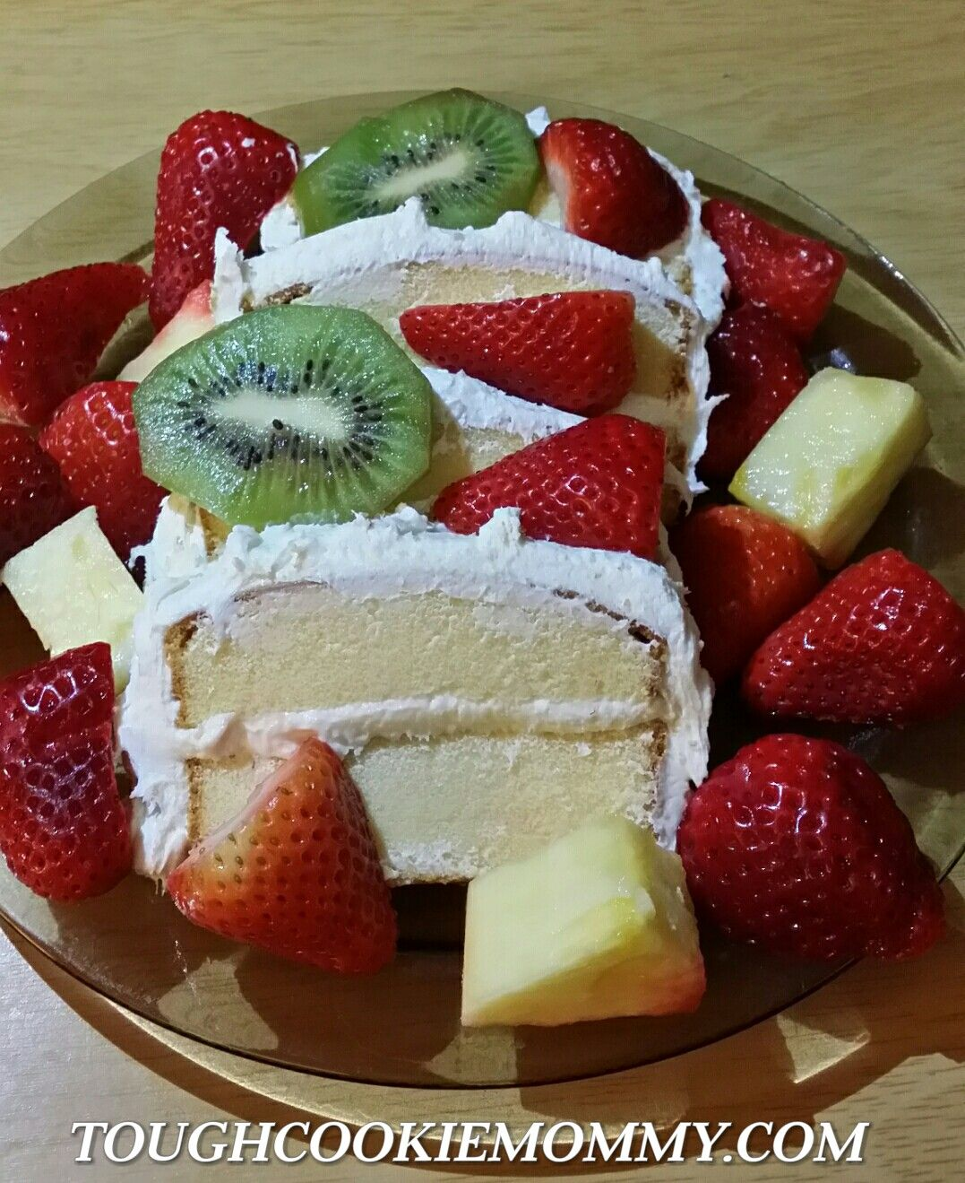 Creamy Fruit Topped Pound Cake Recipe Using Sara Lee With Images