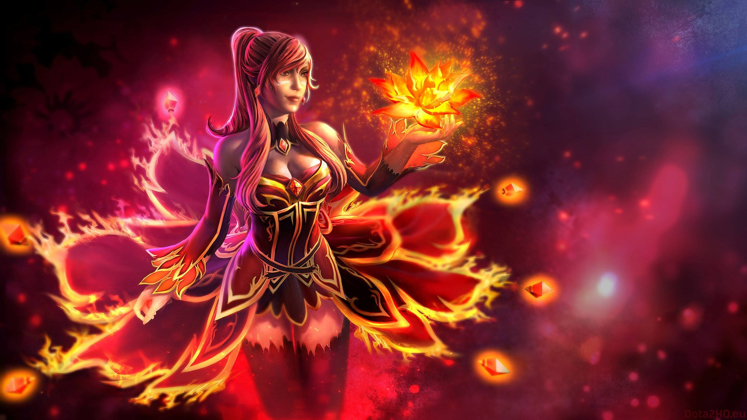 2560x1440 Lina Dota 2 Wallpaper Hd