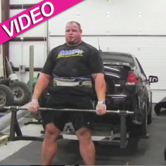 World S Strongest Man Picks Up 830 Pound Car Five Times In A Row Super Human Strength World S Strongest Man Strongman