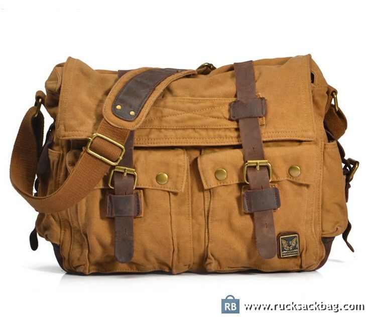 $69.99 Canvas Cross Body Bag Messenger Bag Camera Bag