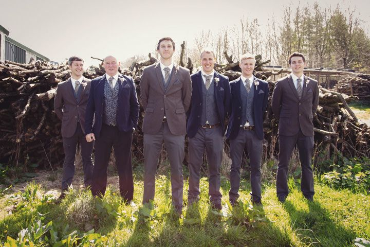 Groom & groomsmen attire