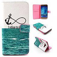 Sea Life Pattern PU Leather Phone Case For Samsun... – USD $ 8.99