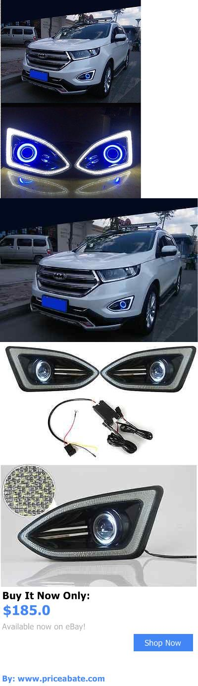 Motors Parts And Accessories For Ford Edge X Led Daytime Fog Lights Projector