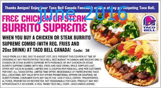 photo about Taco Bell Printable Coupons known as Printable Discount coupons: Taco Bell Coupon codes Absolutely free Printable