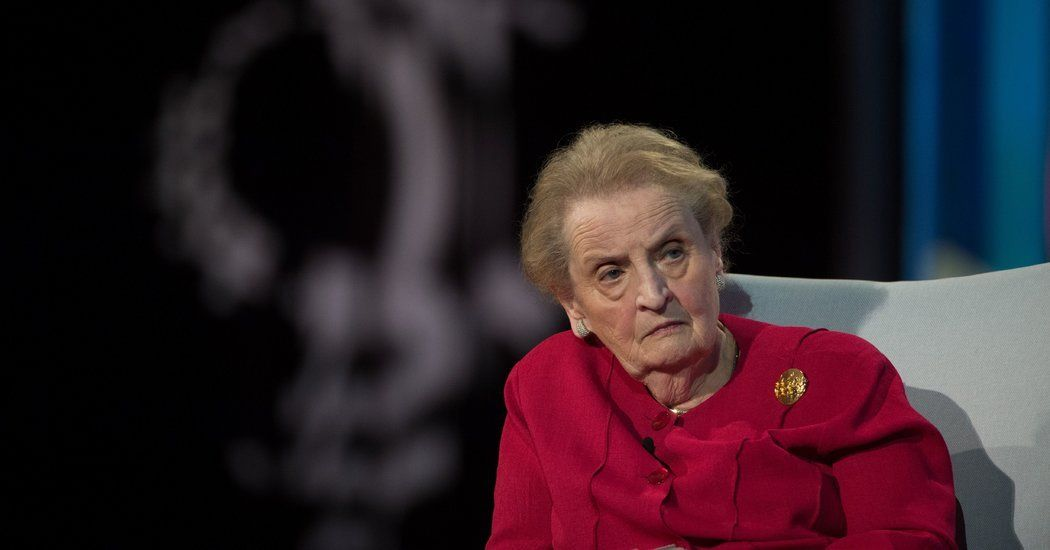 Opinion madeleine albright is worried we should be too