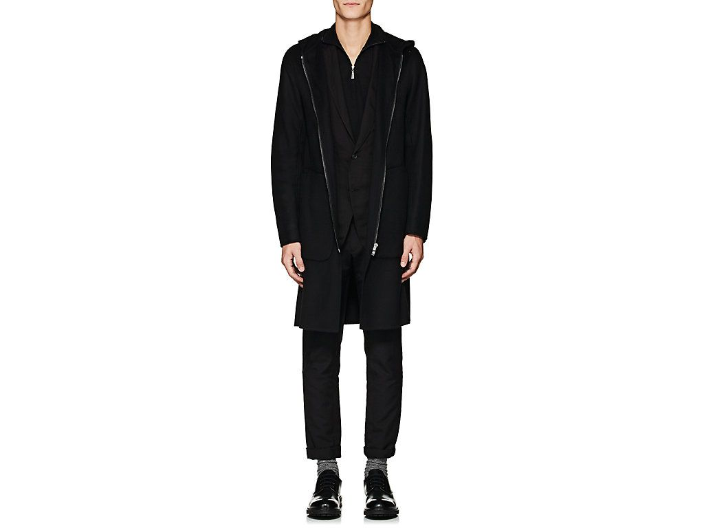 d201ec170356 THEORY WOOL-CASHMERE HOODED DUFFLE COAT. #theory #cloth # | Theory ...