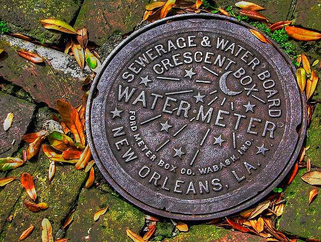NOLA water meter cover!