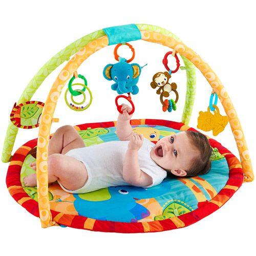Jammin Jungle Activity Gym Walmart Com Bright Starts Baby Activity Center Jungle Activities