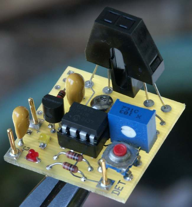 Chopped Infrared Block Detector