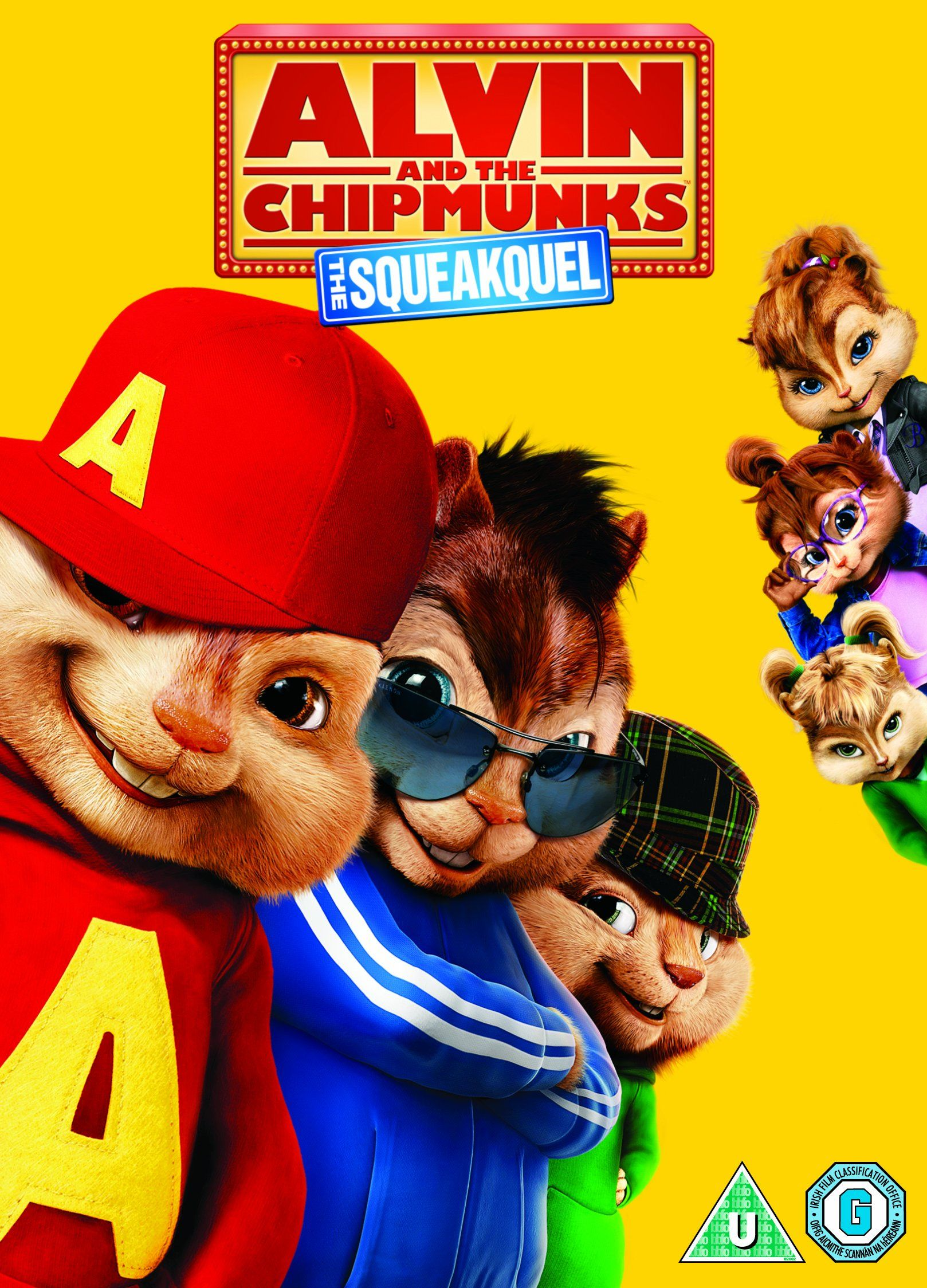 Alvin And The Chipmunks The Squeakquel Dvd Filmes 1080p Hd