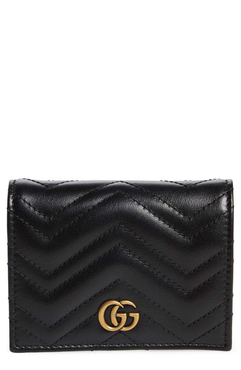 03f0064e67d2 Free shipping and returns on Gucci GG Marmont 2.0 Matelassé Leather Card  Case at Nordstrom.com. Supple leather patterned in matelassé chevrons  distinguishes ...