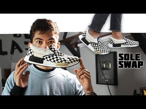 check out 00b05 ed343 (51) Making the Adidas NMD Boost x Vans Slip-On Sneaker - YouTube