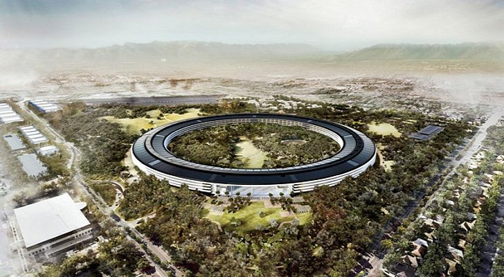 Apple Campus 2 Construction #Apple #Campus2 #Foster&Partners Pinned by www.modlar.com