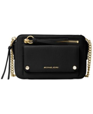 28eac6f17ec815 Michael Michael Kors Mitchell Medium Messenger - Black | Products ...