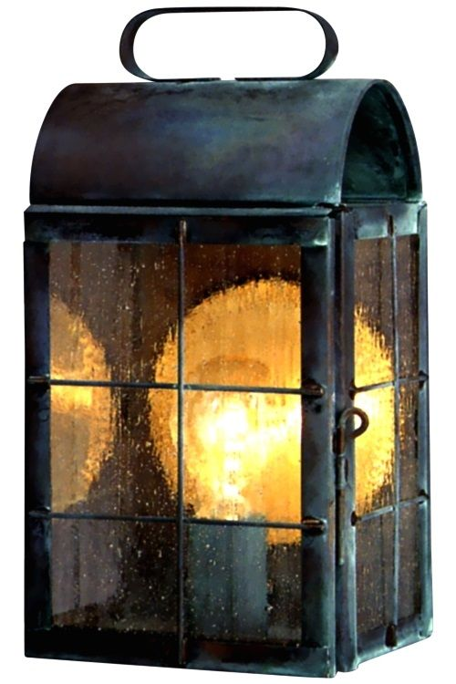 New Haven Outdoor Wall Sconce Lantern Copper Lantern Wall Sconce Lantern Colonial Lantern