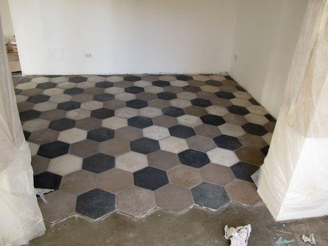 Recupero cementine antiche pavimenti misti - Piastrelle antiche cemento ...
