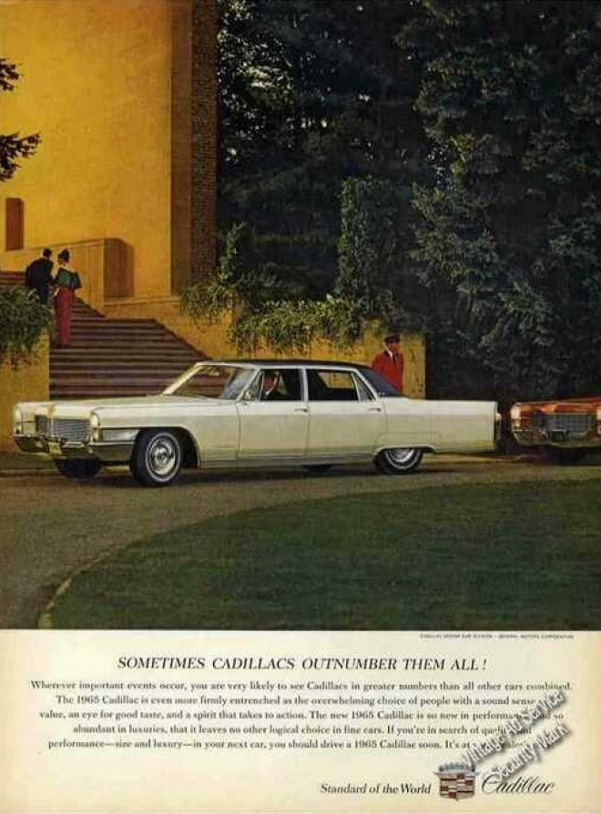 Cadillac Sometimes Outnumbers Them All (1965)