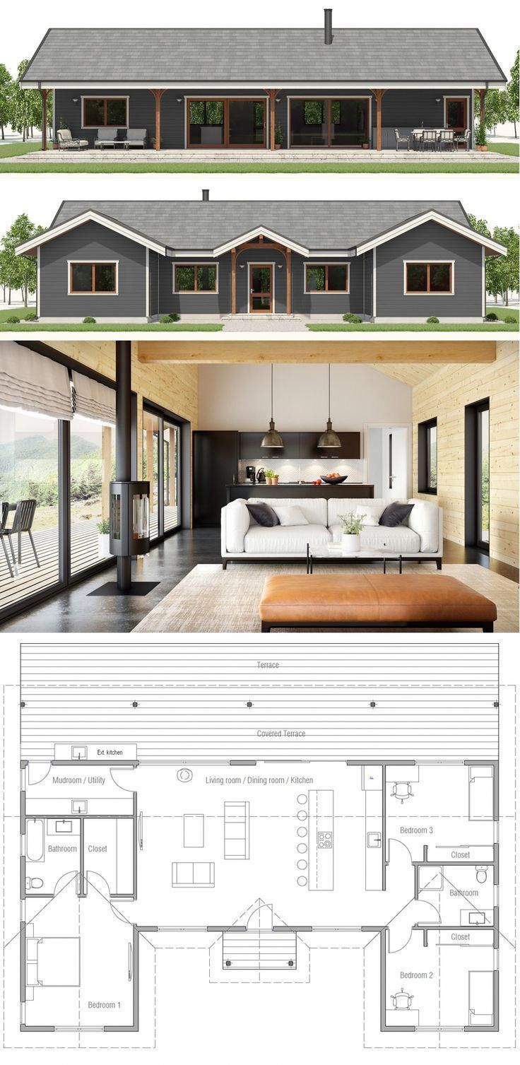 Awesome Cheap Home Decor Information Is Readily Available On Our Web Pages Check It Out And You Wont Be New House Plans Small House Plans House Floor Plans