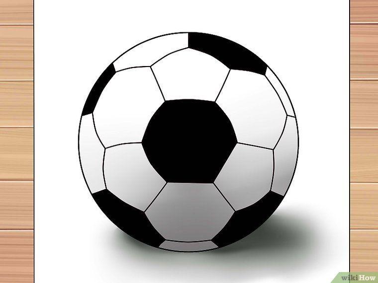 27605ecf0 3 formas de dibujar una pelota de futbol - wikiHow