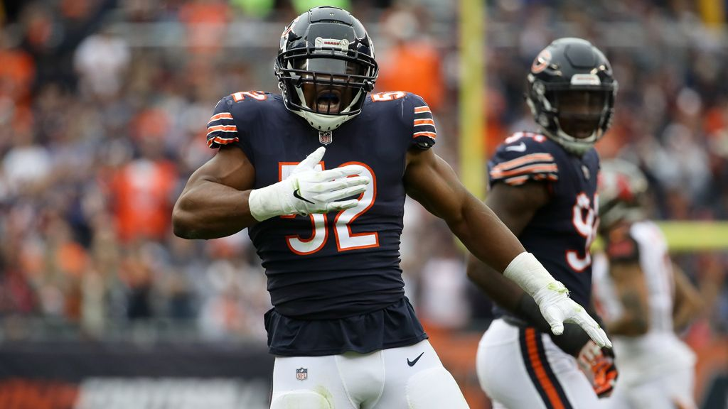 Bears Star Mack Very Much On Giants' Mind Nfc north, Nfl