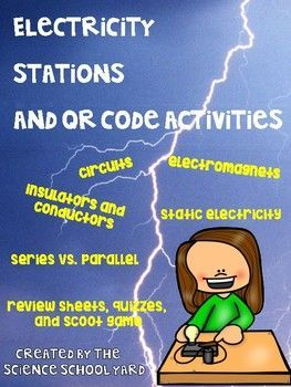 Getting ready for your electricity unit? Here is everything you will need to get your learners charged up! From circuits to static electricity...parallel vs. series...insulators vs. conductors this pack is filled with sheets, graphics, quizzes, and games!