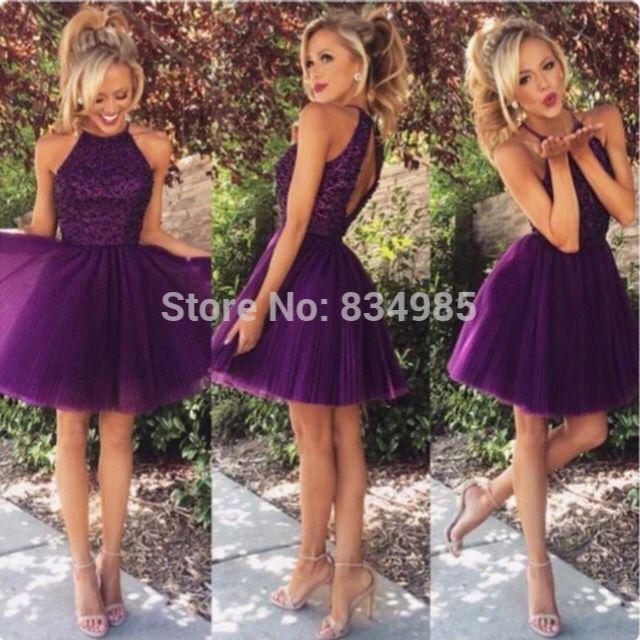 my grade 8 grad dress | Grad | Pinterest | Purple, Fit and Dresses