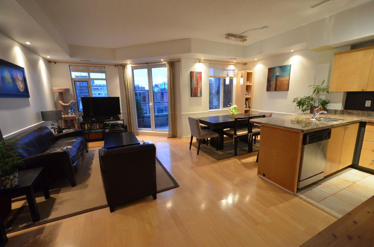 Modern Living Room Kitchen Combo small living room, kitchen, dining room combo | house | pinterest