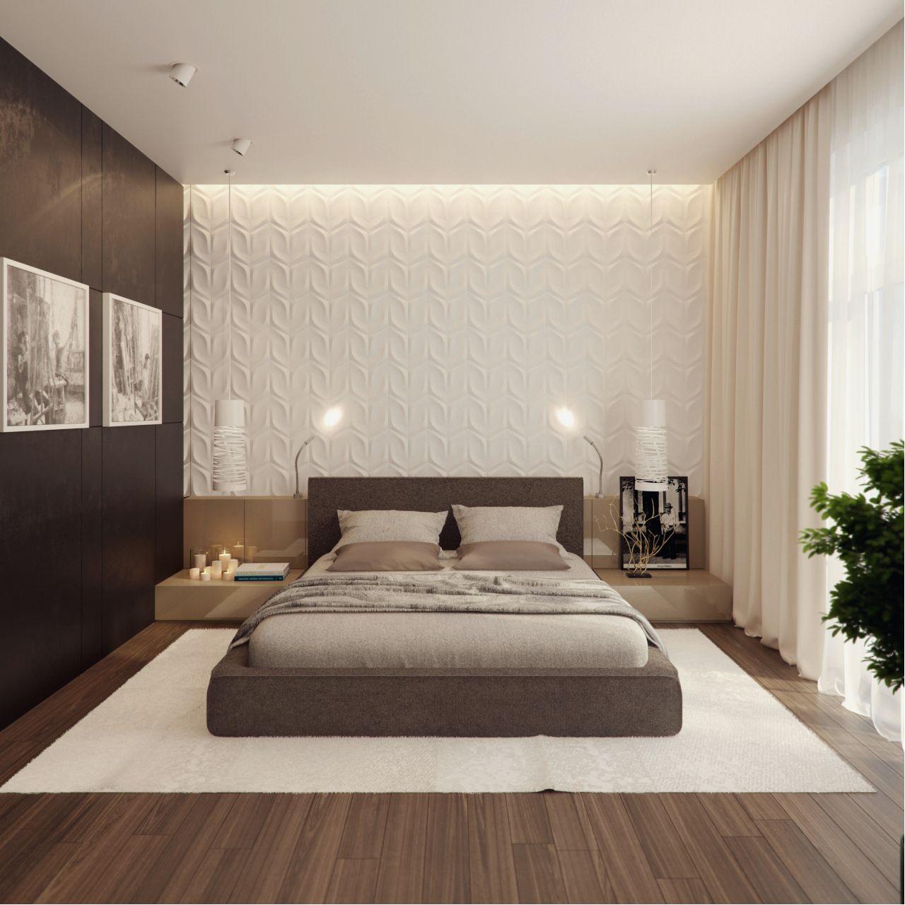 Interer Kvartiry 250m Na Ul Molodogvardejskaya Arhitekturnoe Byuro Aleksandry Fedorovoj Modern Master Bedroom Decor Simple Bedroom Minimalist Bedroom Design