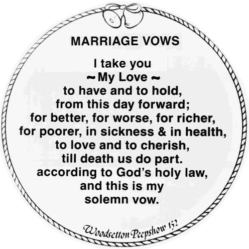 Catholic Wedding Vows: 20+ Traditional Wedding Vows Example Ideas You'll Love
