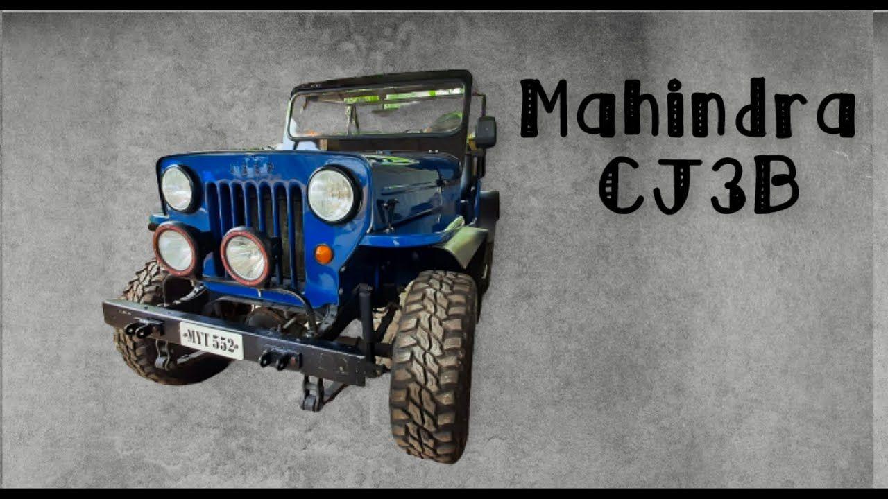 Pin On Mahindra Jeep Cj3b