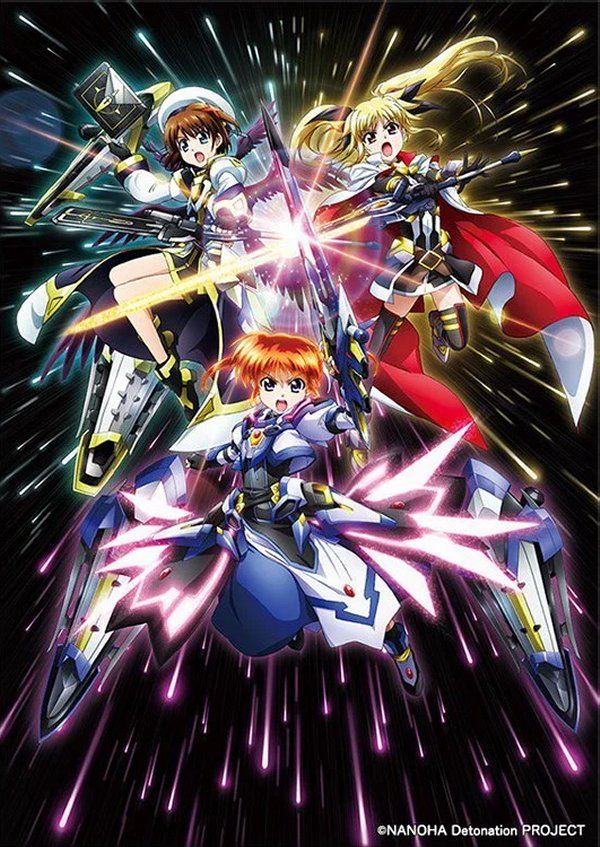 First 'Magical Girl Lyrical Nanoha Detonation' Anime