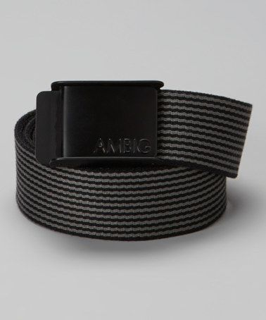 Look what I found on #zulily! Black Ripper Belt #zulilyfinds