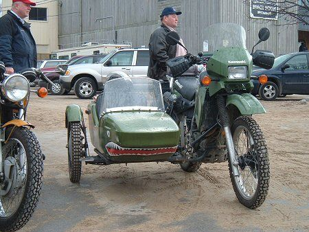Dual Sport Dirt Bike With A Sweet Sidecar Next Vehicle Dual